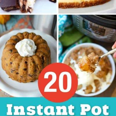 20 Instant Pot Cake Recipes