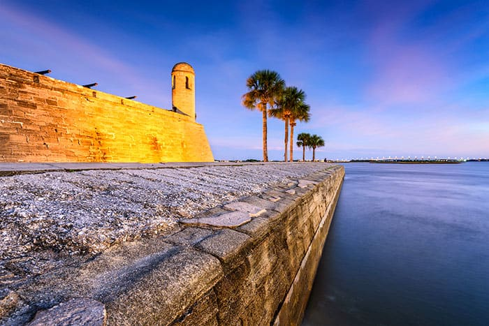 St. Augustine Florida - 5 of the best day trips from Disney World. Learn about fun Orlando day trips perfect for your family vacation. #orlando #travel #disney