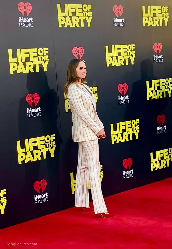 Life of the Party Movie Premiere Red Carpet Recap Debby Ryan