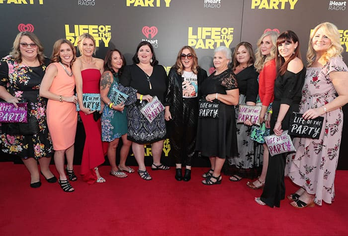 Life of the Party Movie Premiere Red Carpet Recap Digital Influencer Bloggers