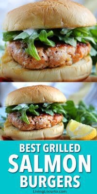 Easy Salmon Burger Recipe