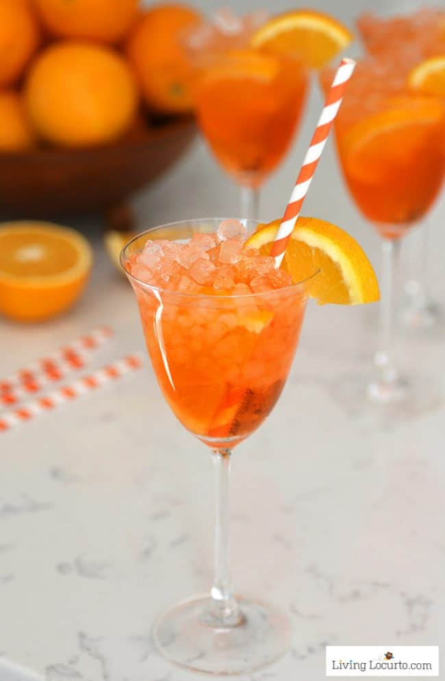 Aperol Spritz Recipe Easy Skinny Low Calorie Cocktail Drink