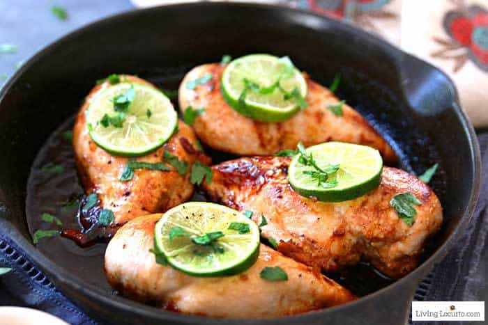 Honey Lime Baked Chicken Breasts is an easy dinner made in less than 30 minutes. Easy low carb baked chicken recipe.