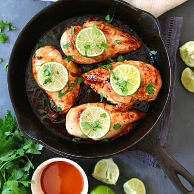 Honey Lime Baked Chicken