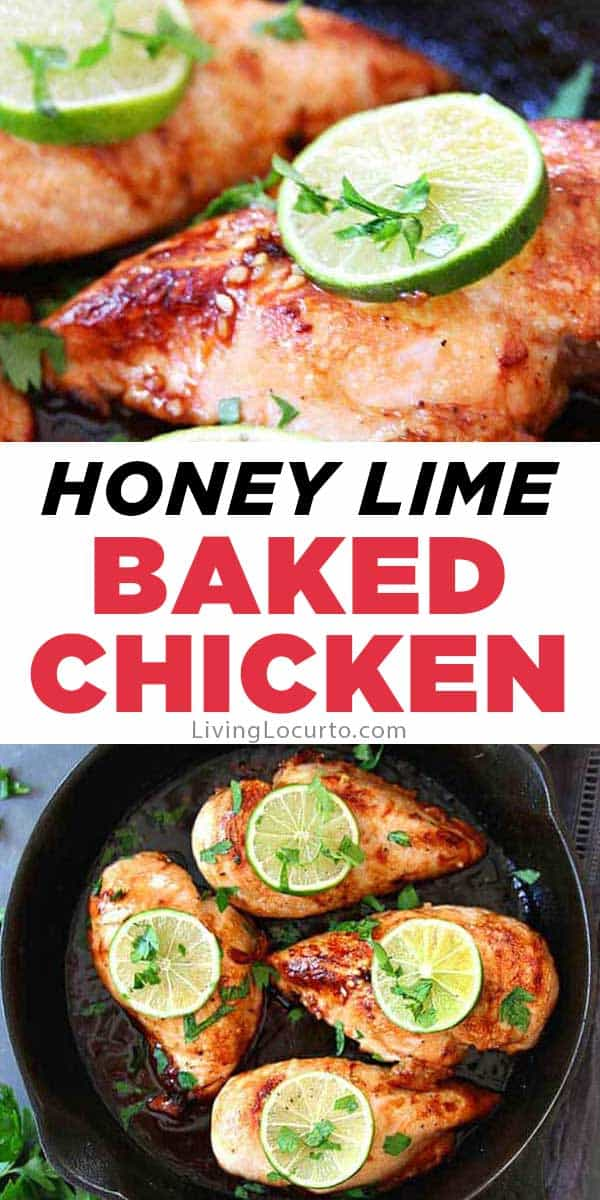 Honey Lime Baked Chicken Recipe - How to make juicy chicken breasts every time!