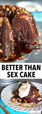 Better Than Sex Cake Chocolate Caramel Toffee Dessert Recipe