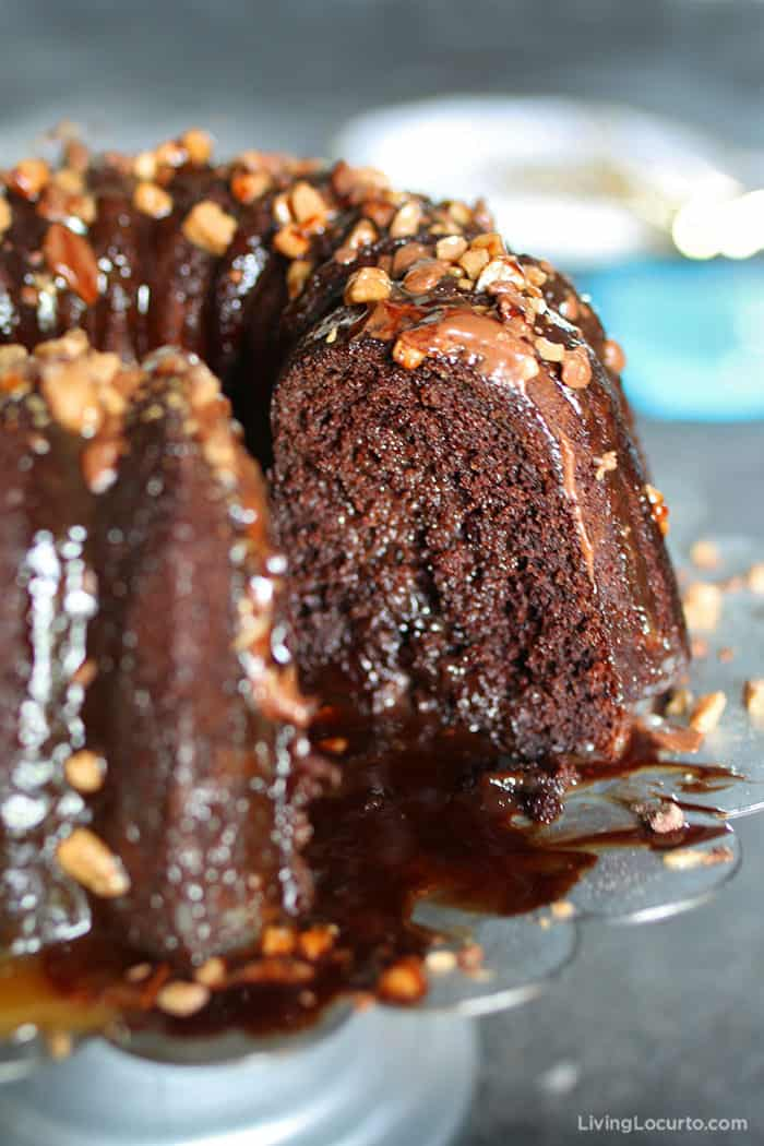 Better Than Sex Cake Recipe is a dessert you can't resist! Easy Chocolate Bundt cake filled with caramel and toffee.