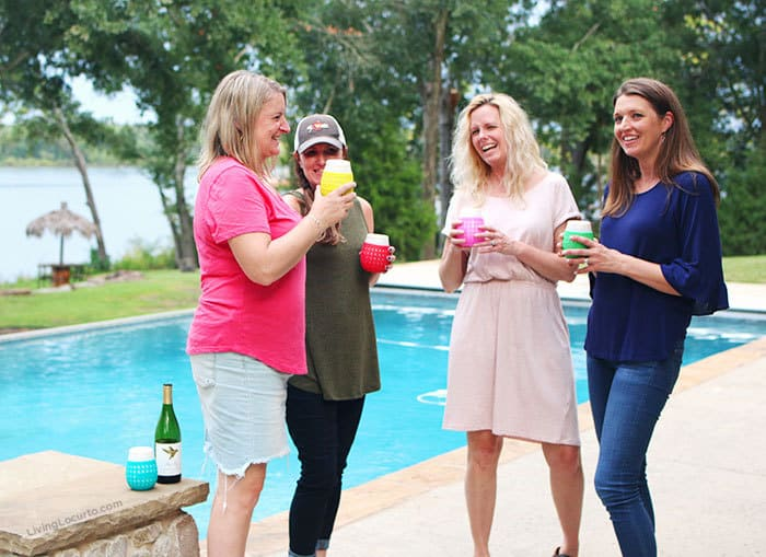 A recap of the Living Locurto Retreat in Texas. A behind the scenes look at the DIY Lifestyle, Food and Party blog. Best Party Bloggers