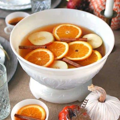 Autumn Spice Punch Recipe