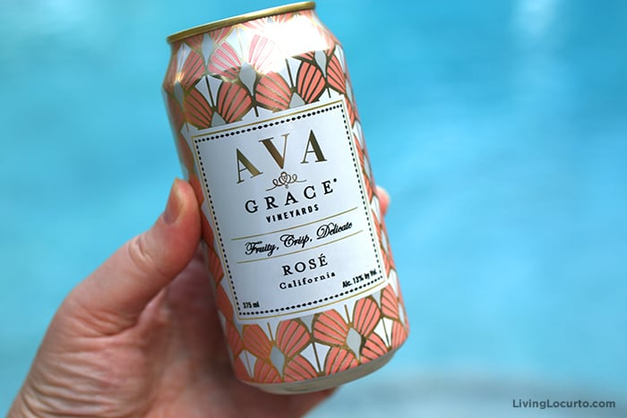 Best Canned Wine. The Rosé Wine Winner - Ava Grace Vineyards Rosé
