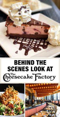 The Cheesecake Factory Behind The Scenes Sneak Peek