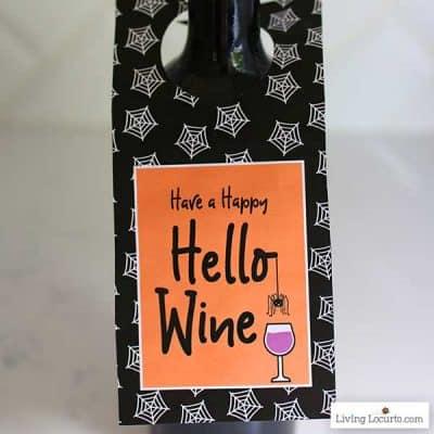 Protected: Halloween Wine Labels
