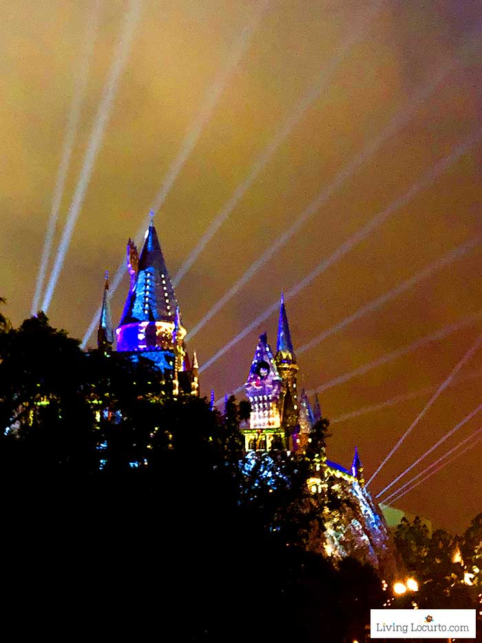 Harry Potter Castle light show   Christmas at Universal Orlando. Learn what's new this holiday season and get travel tips to make your Christmas vacation special.