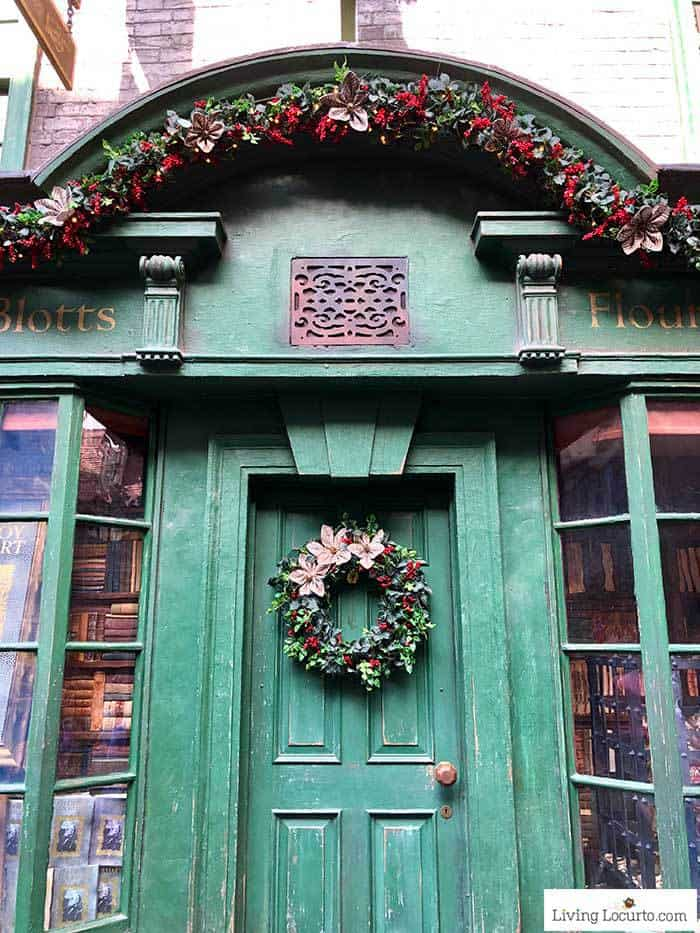 Diagon Alley Harry Potter Christmas Decorations | Christmas at Universal Orlando. Learn what's new this holiday season and get travel tips to make your Christmas vacation special.