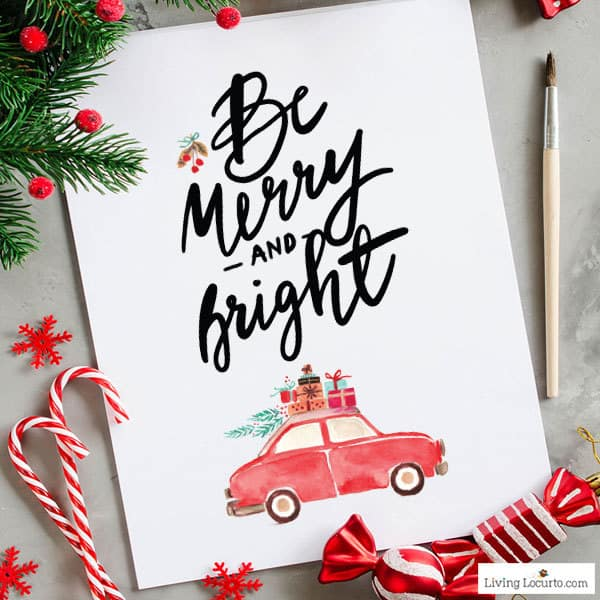 Get Printables Each Month! Join the Living Locurto Fun Club for access to the best Christmas Party printables!