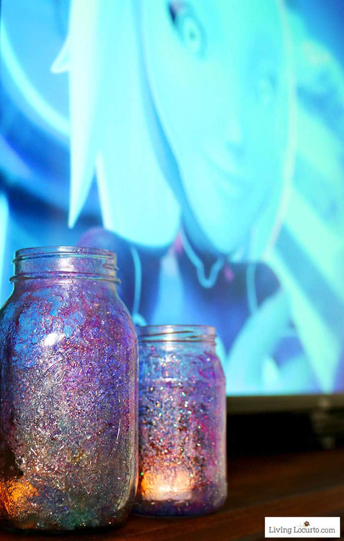 How to make Galaxy Jars. Easy craft tutorial inspired by 3Below by Living Locurto.