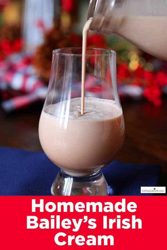 How to make Homemade Bailey's Irish Cream. An easy creamy cocktail recipe that only takes a few minutes to make yourself! Perfect for mixing with your coffee, hot chocolate or enjoying on ice. #drinks #recipe
