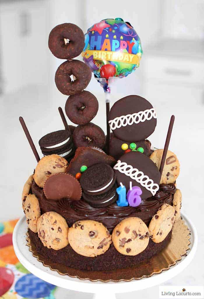 Ultimate Chocolate Birthday Cake - Living Locurto
