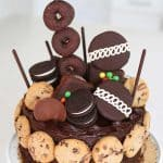 Ultimate Chocolate Birthday Cake No Bake Dessert - 16th Birthday Party Idea