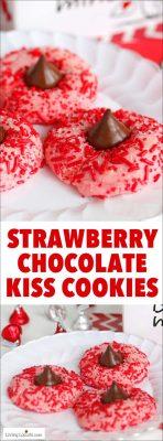 Strawberry-Chocolate-Kiss-Cookies---Thumbprint-Cookie-Recipe