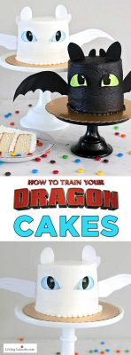 How to Train Your Dragon White Cake Recipe