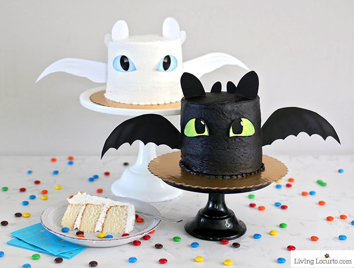 How To Train Your Dragon Cake Tutorial Fluffy White Recipe For A Night Fury