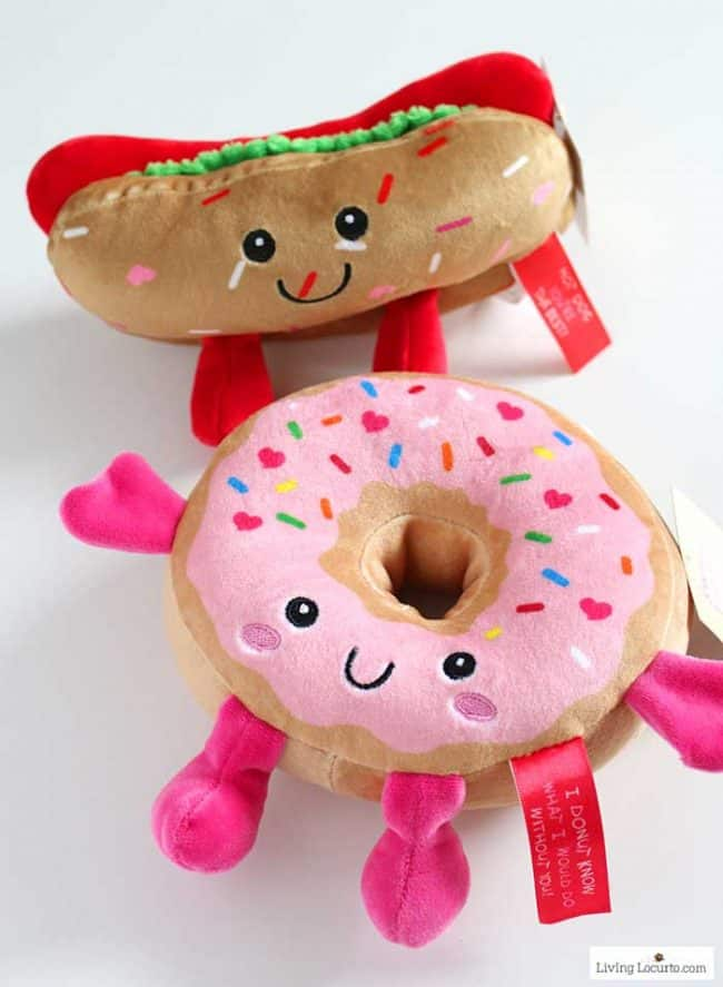 Easy Easter Basket Ideas for Teens - cute food plush from Family Dollar.