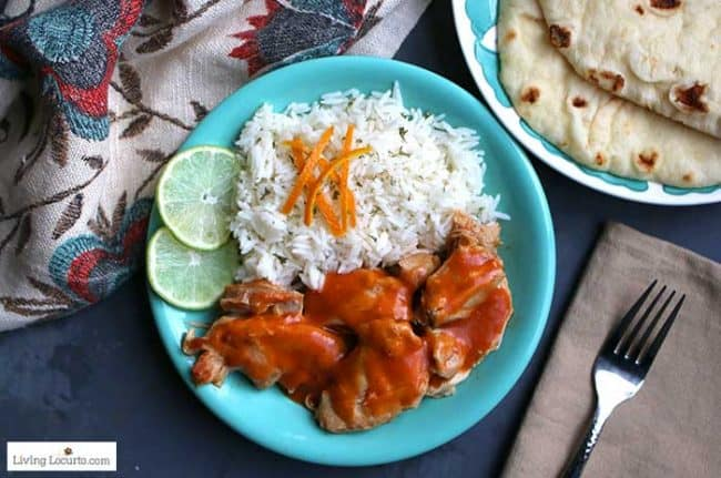 Instant Pot Chicken Tikka Masala easy recipe.