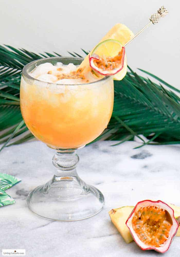 Passion Fruit Tropical Rum Punch Recipe Living Locurto