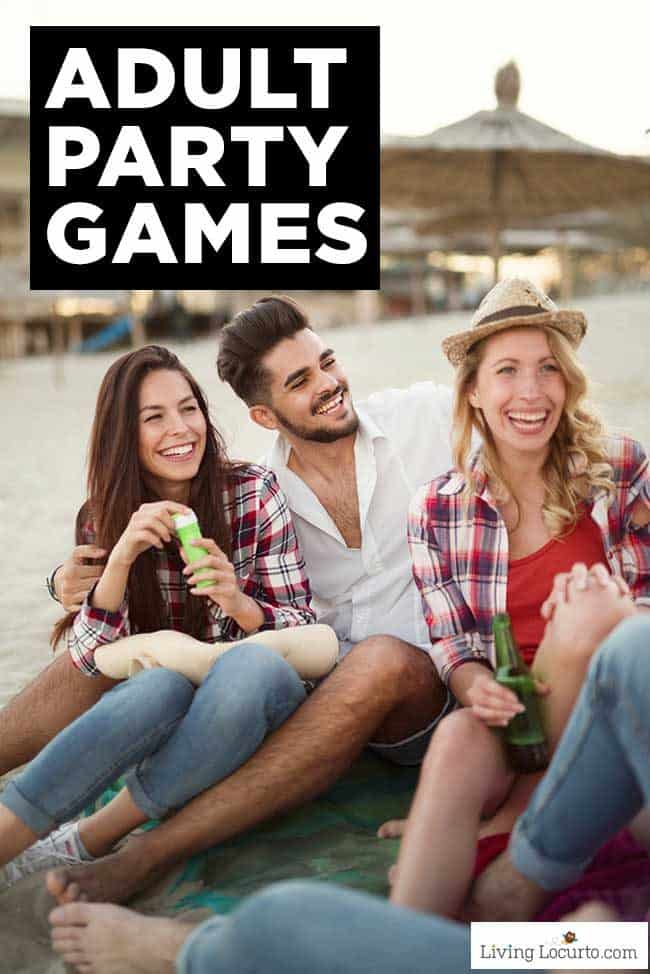 Fun Adult Games to play at your next party or anywhere at anytime!
