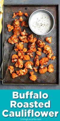 Easy air fryer Buffalo cauliflower