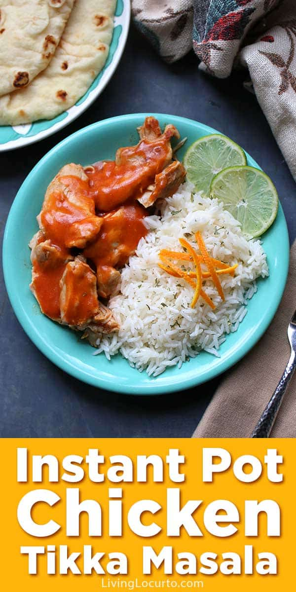 Fast and easy Chicken Tikka Masala made in the Instant Pot. This spicy, creamy tomato Indian dish is an easy pressure cooker recipe.