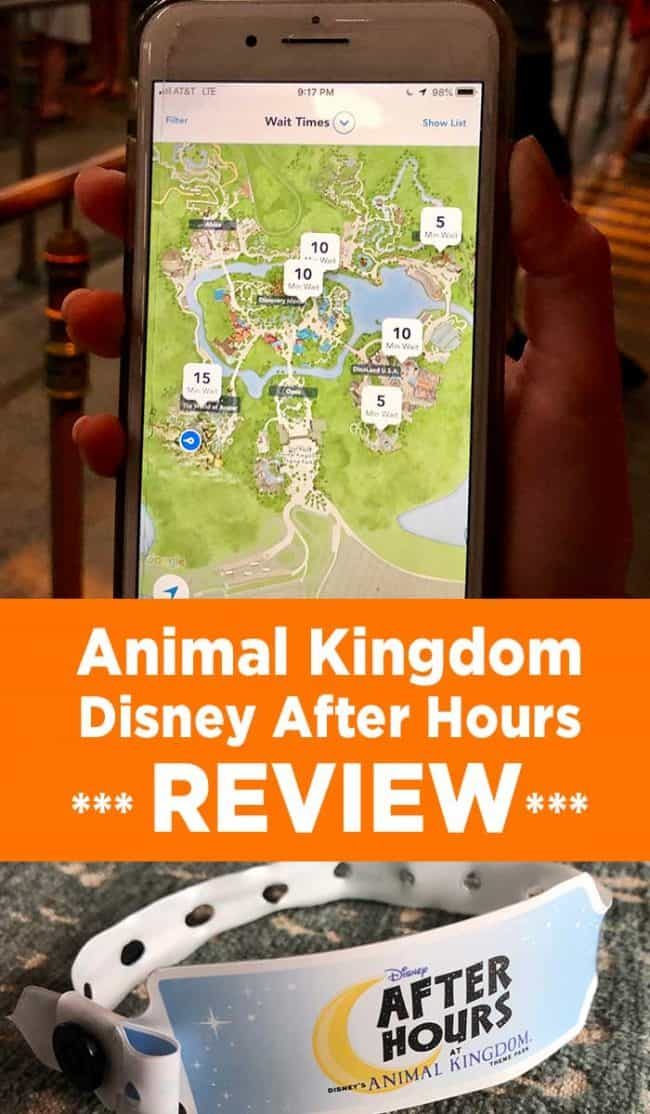 Is the Disney After Hours event worth the money? Review for Disney After Hours event in Disney's Animal Kingdom. Inside scoop and Disney travel tips.