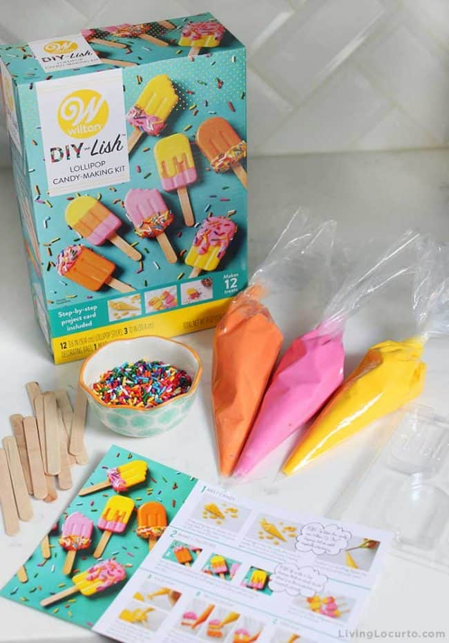 Wilton DIY-Lish Lollipop Candy-Making Kit - Popsicle