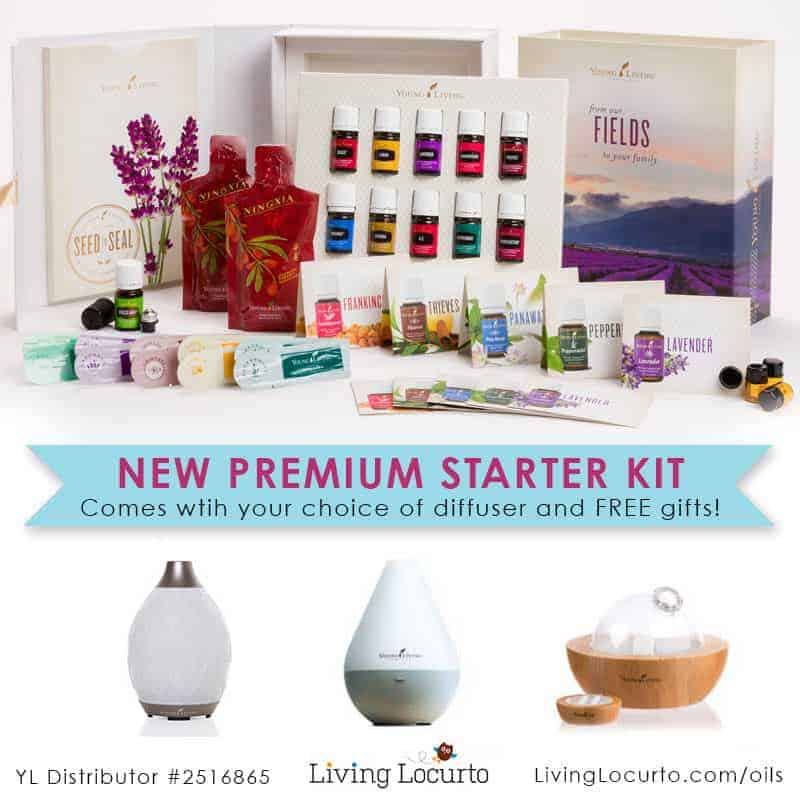Young Living Essential Oils - Premium Starter Kit Deal From LivingLocurto.com/oils