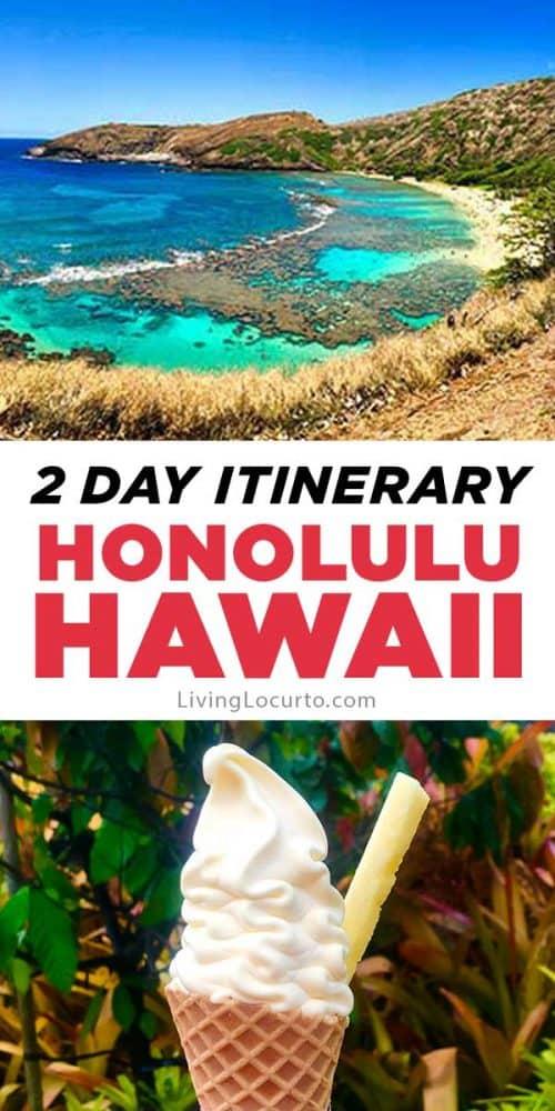 2 Day Oahu Itinerary Honolulu Hawaii Travel Tips