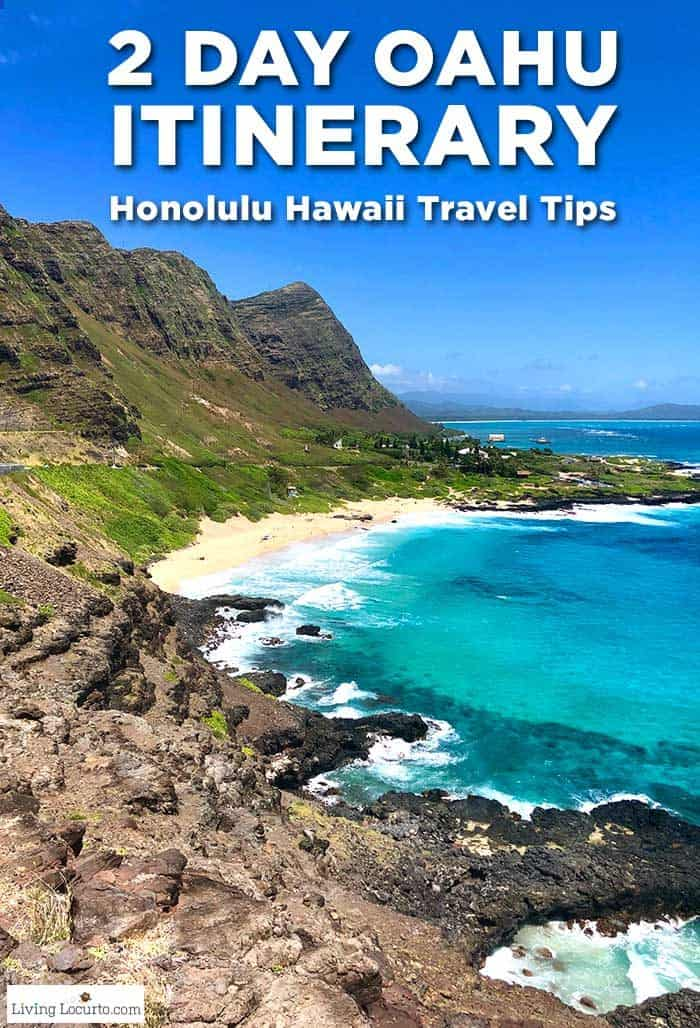 2 Day Oahu Itinerary Honolulu Hawaii Travel Tips Living