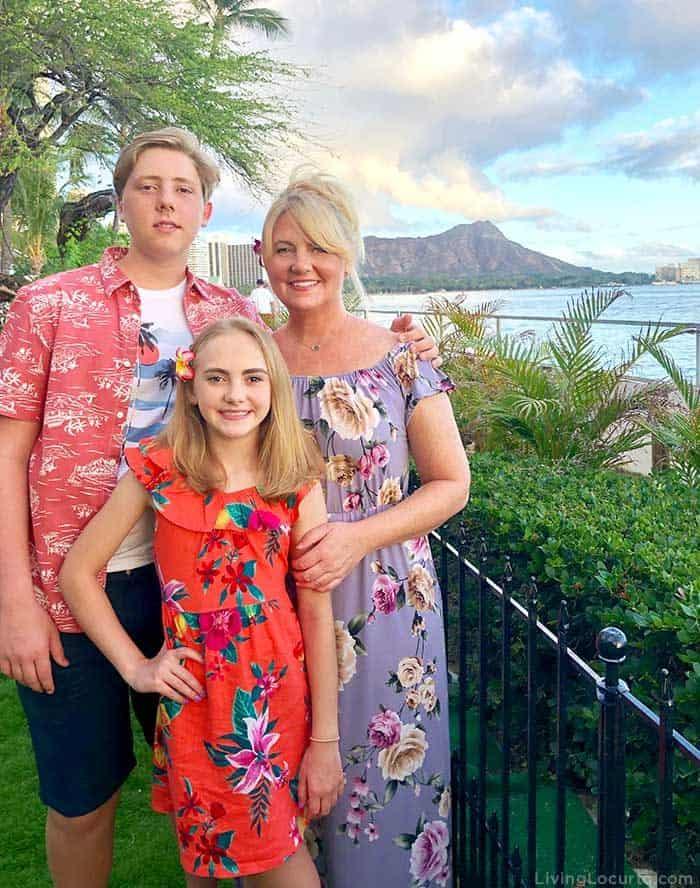 Amy Locurto Family Travel Blogger - 2 Day Oahu Itinerary - Honolulu Hawaii Travel Tips - Living Locurto