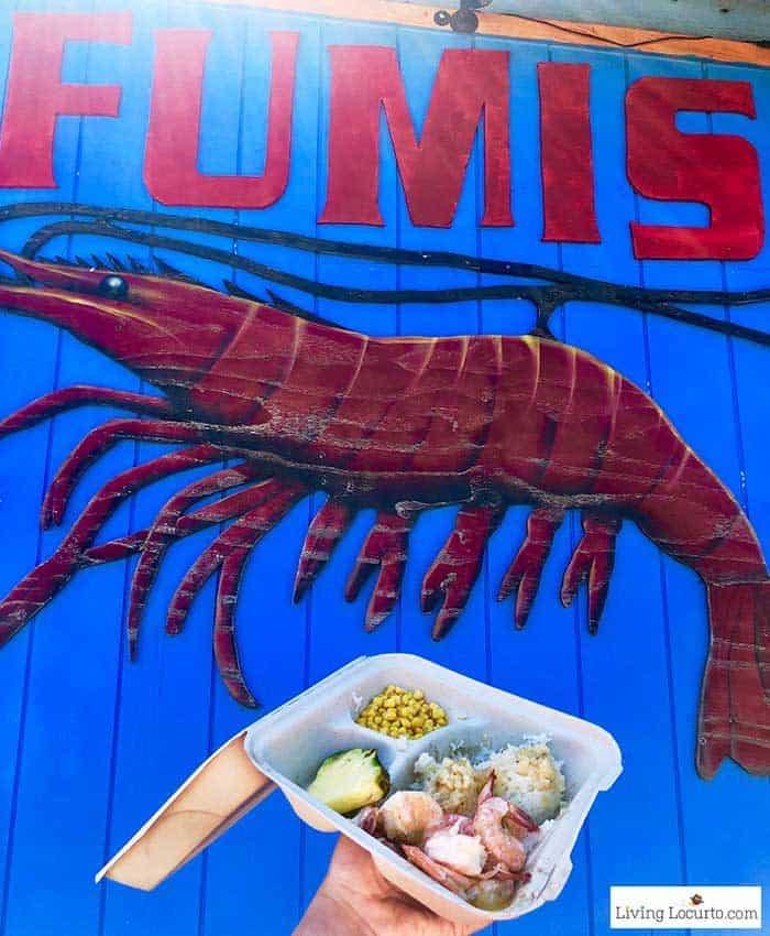 Fumis Shrimp North Shore - 2 Day Oahu Itinerary - Honolulu Hawaii Travel Tips - Living Locurto