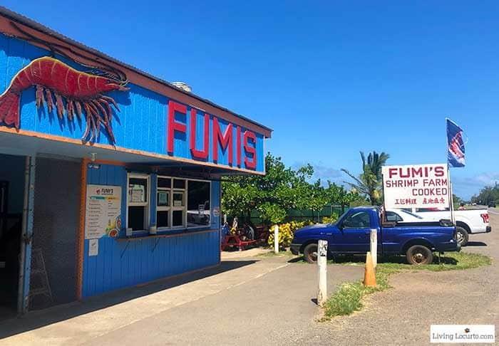Fumis Shrimp Farm Restaurant North Shore - 2 Day Oahu Itinerary - Honolulu Hawaii Travel Tips - Living Locurto