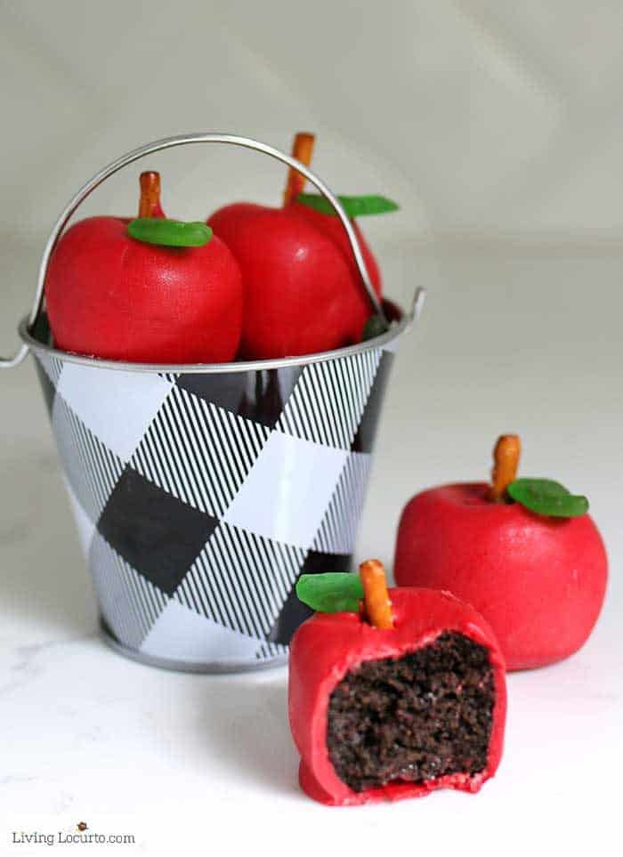 Apple OREO Balls Back to School Easy Recipe