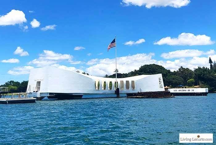 Pearl Harbor Memorial - 2 Day Oahu Itinerary - Honolulu Hawaii Travel Tips