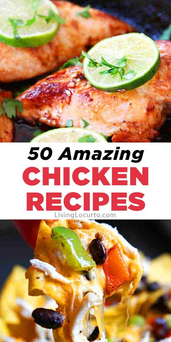 50 Easy Chicken Dinner Recipes