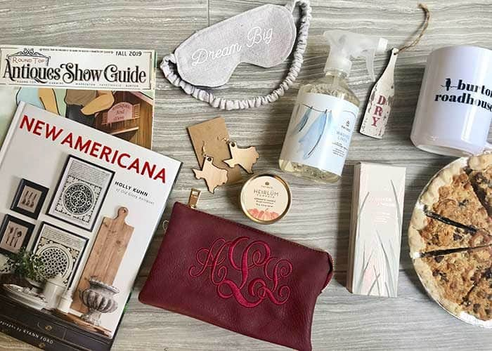 Round Top Texas Travel Tips - Retreat Favor Bags
