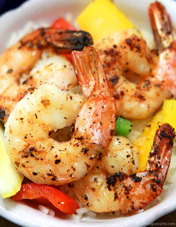 Lemon Garlic Baked Shrimp Recipe - Easy Dinner Idea