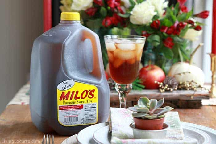 Easy Holiday Recipes - Milos Tea Ideas