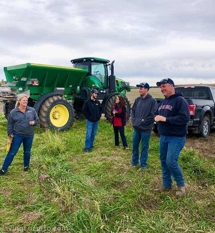Steve Kuiper - Iowa Corn Farmer Environmental Stewardship. Food Blogger Press Trip