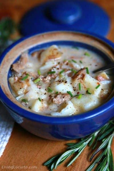 Easy Sausage Potato Soup Recipe