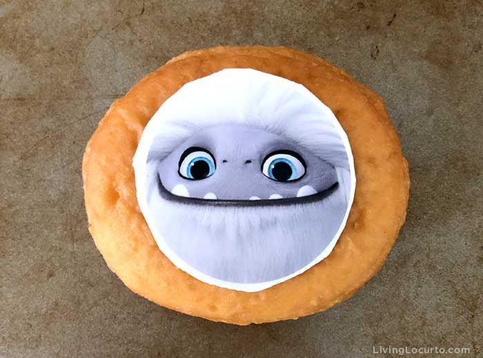 Abominable Yeti Donuts - Step 1