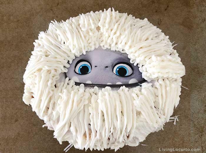 Abominable Yeti Donuts - Cute movie treat
